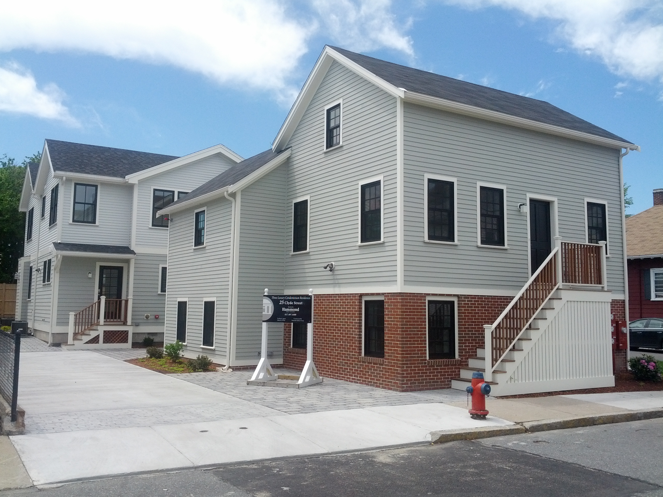 File House At 25 Clyde St Somerville Ma Condo