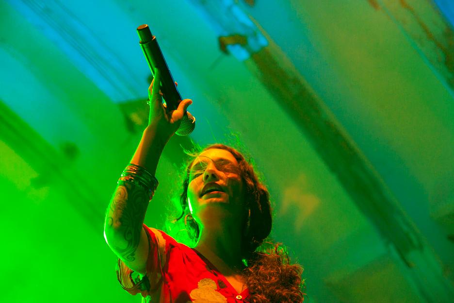 La cantante en 2011