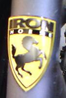Iron Horse Head Badge