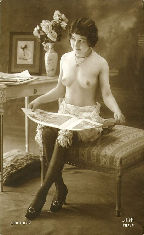 ww1 french nude postcards