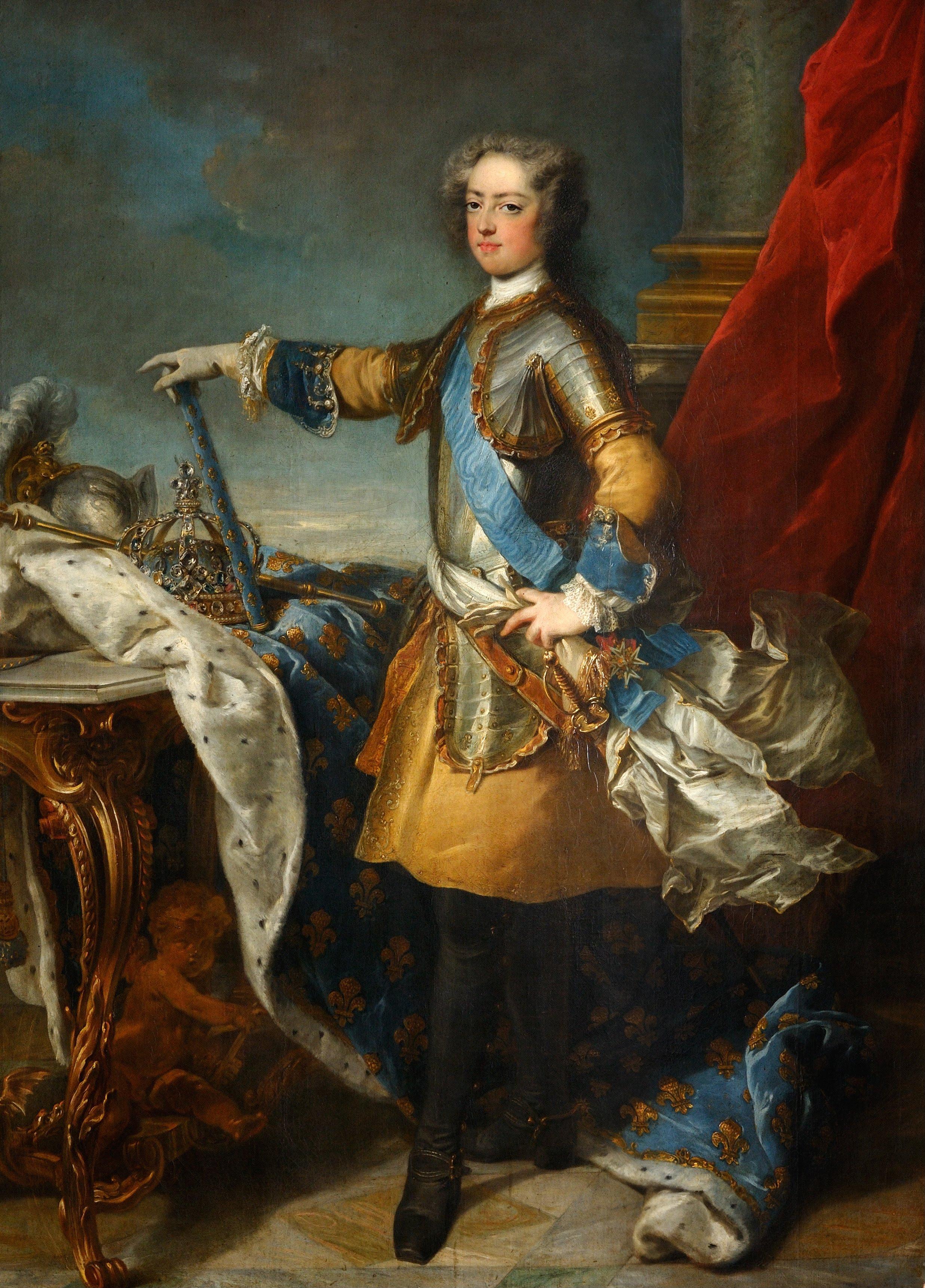 File:Jean-Baptiste Van Loo - Louis XV, roi de France et de Navarre.