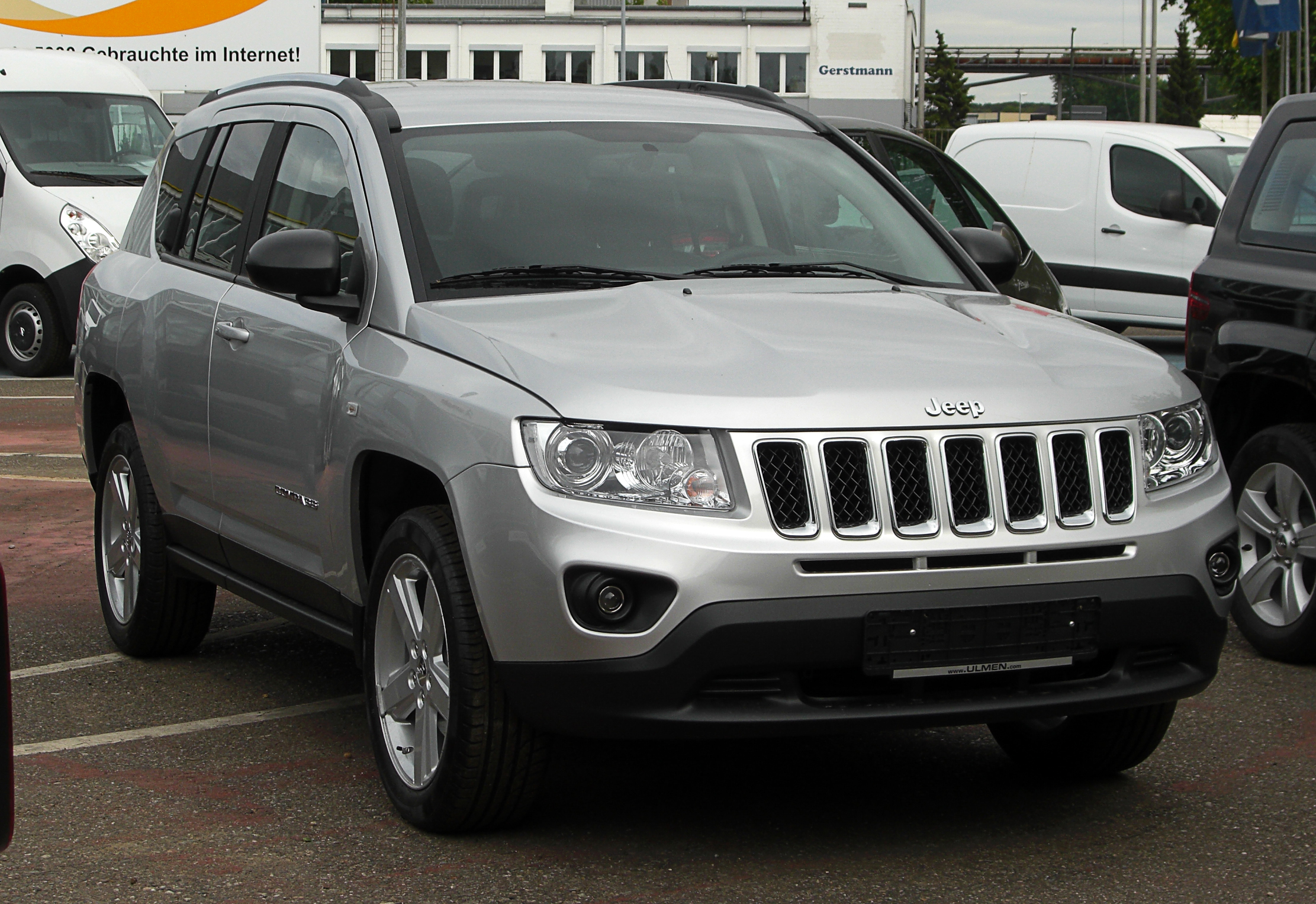 jeep compass 2 2 crd limited facelift frontansicht 28 mai 2011 d. Black Bedroom Furniture Sets. Home Design Ideas