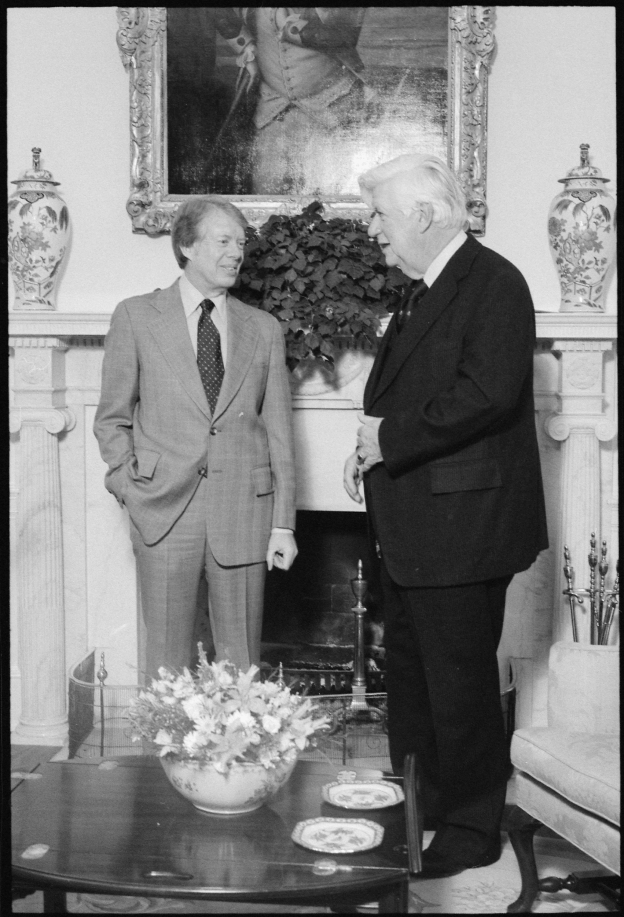 FileJimmy Carter Meets With Speaker Of The House Thomas