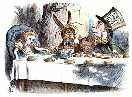 illustrazioni alice di john tenniel
