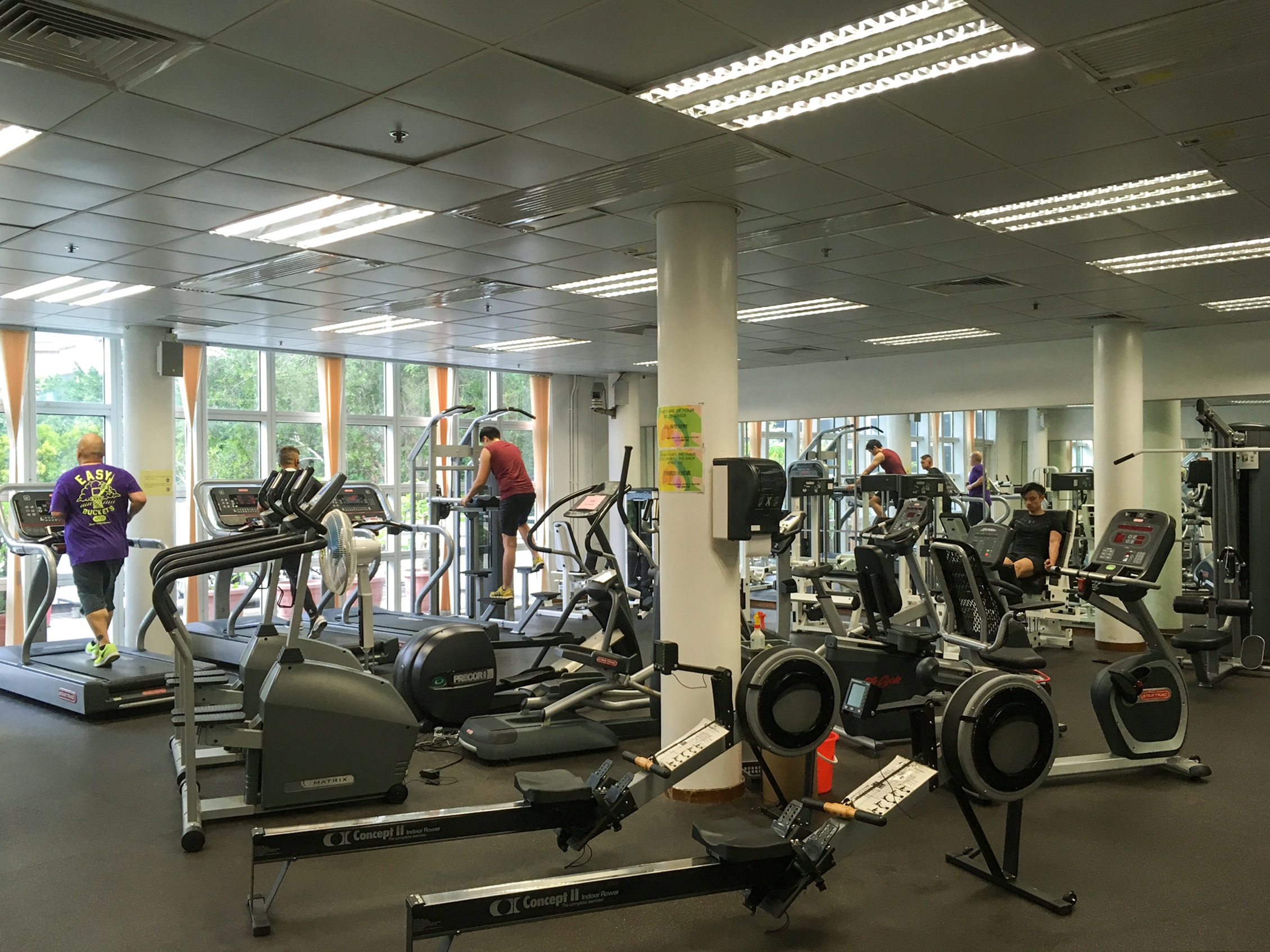 File kowloon park sports centre gym room g