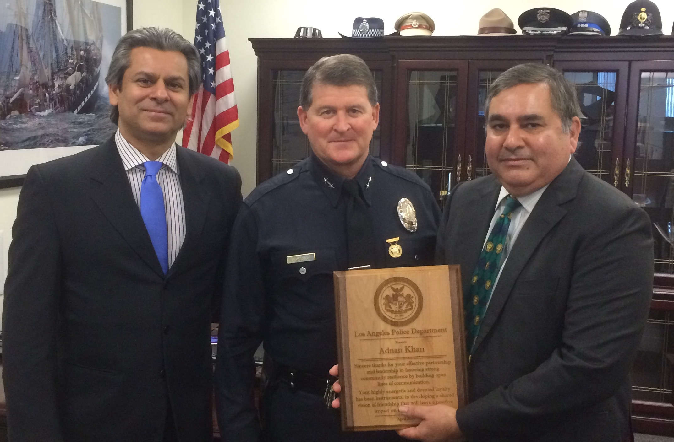 LAPD honors officers for their bravery and, for the first time ...