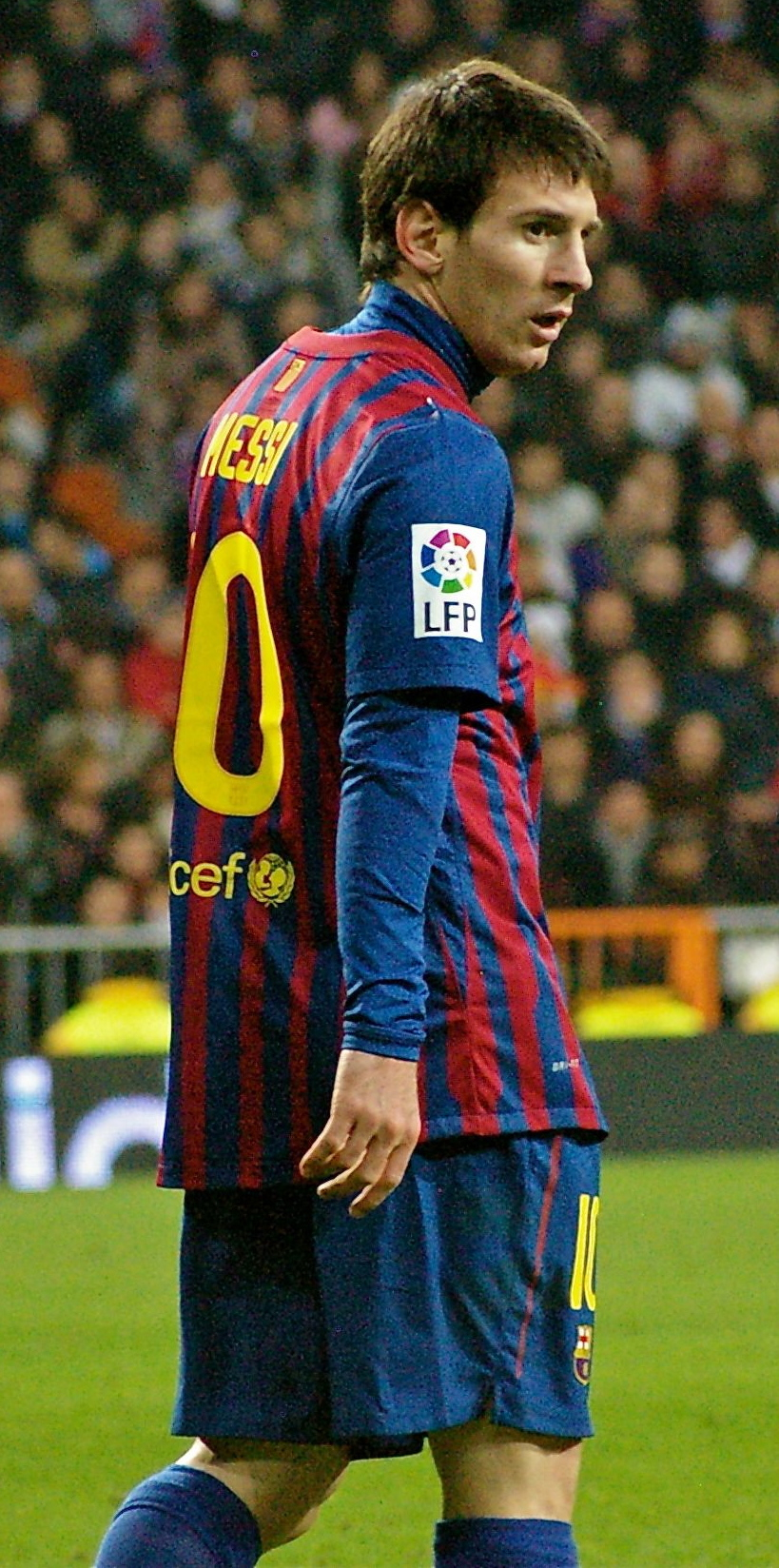 Messi 2014 Clasico Messi Durante un Clásico