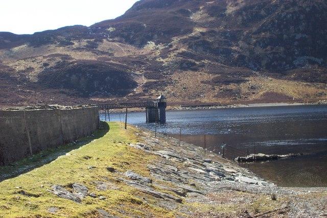 Llyn Cowlyd Reservoir Dam - geograph.org.uk - 209477