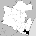 Sacavém location within Loures municipality