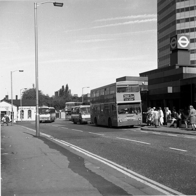 File London Buses South London Bus Dms Fleetline Route 264