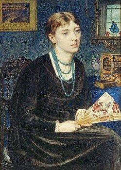 Louisa baldwin by edward poynter
