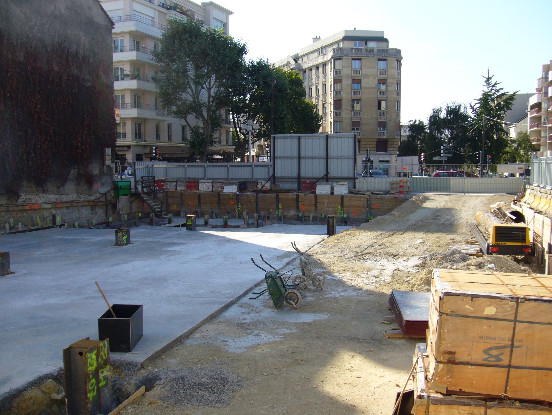 File mairie de montrouge chantier de construction du for Chantiers de construction