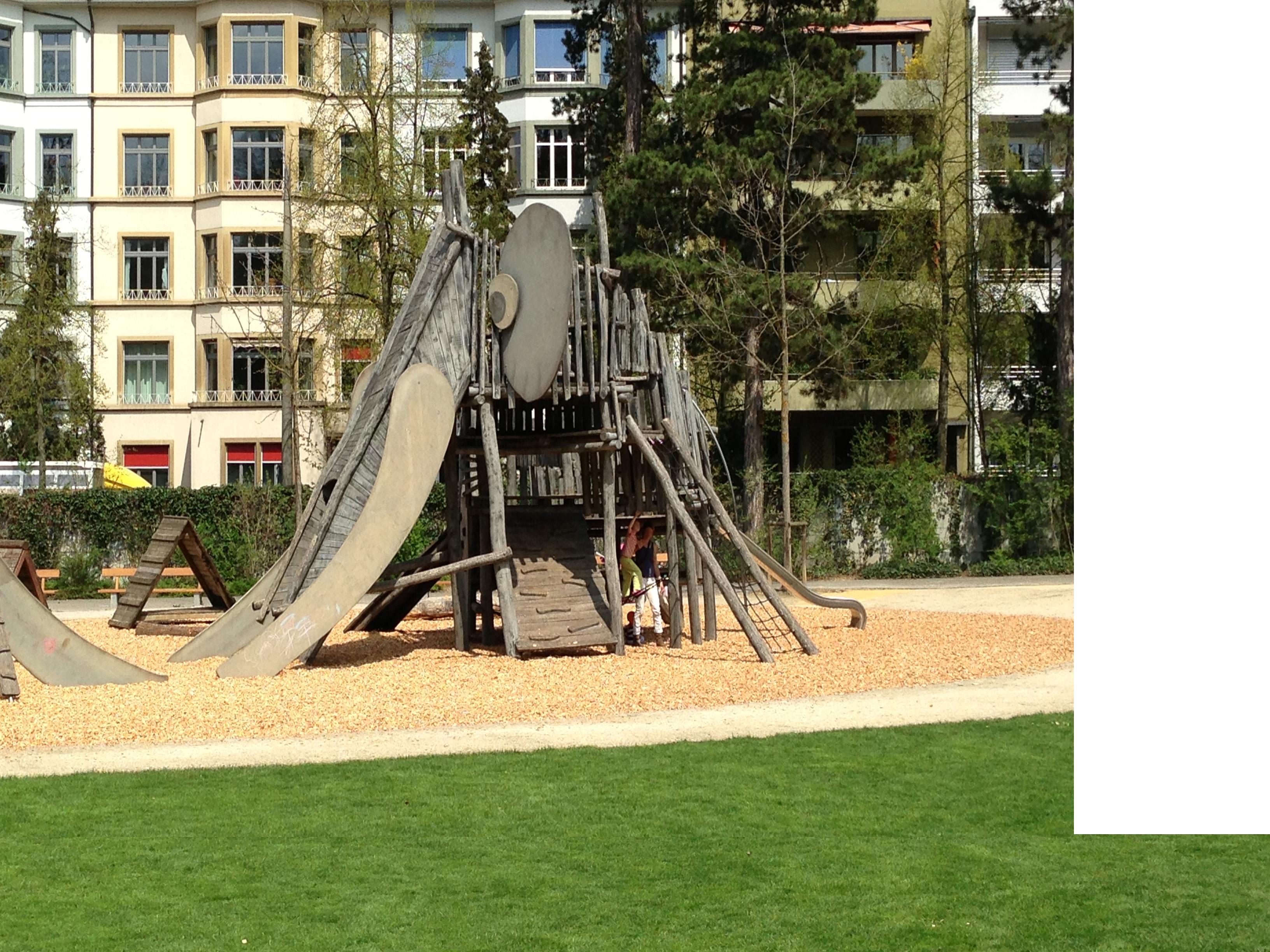 FileMargarethenpark Spielplatz mit Elefantjpg  Wikimedia Commons