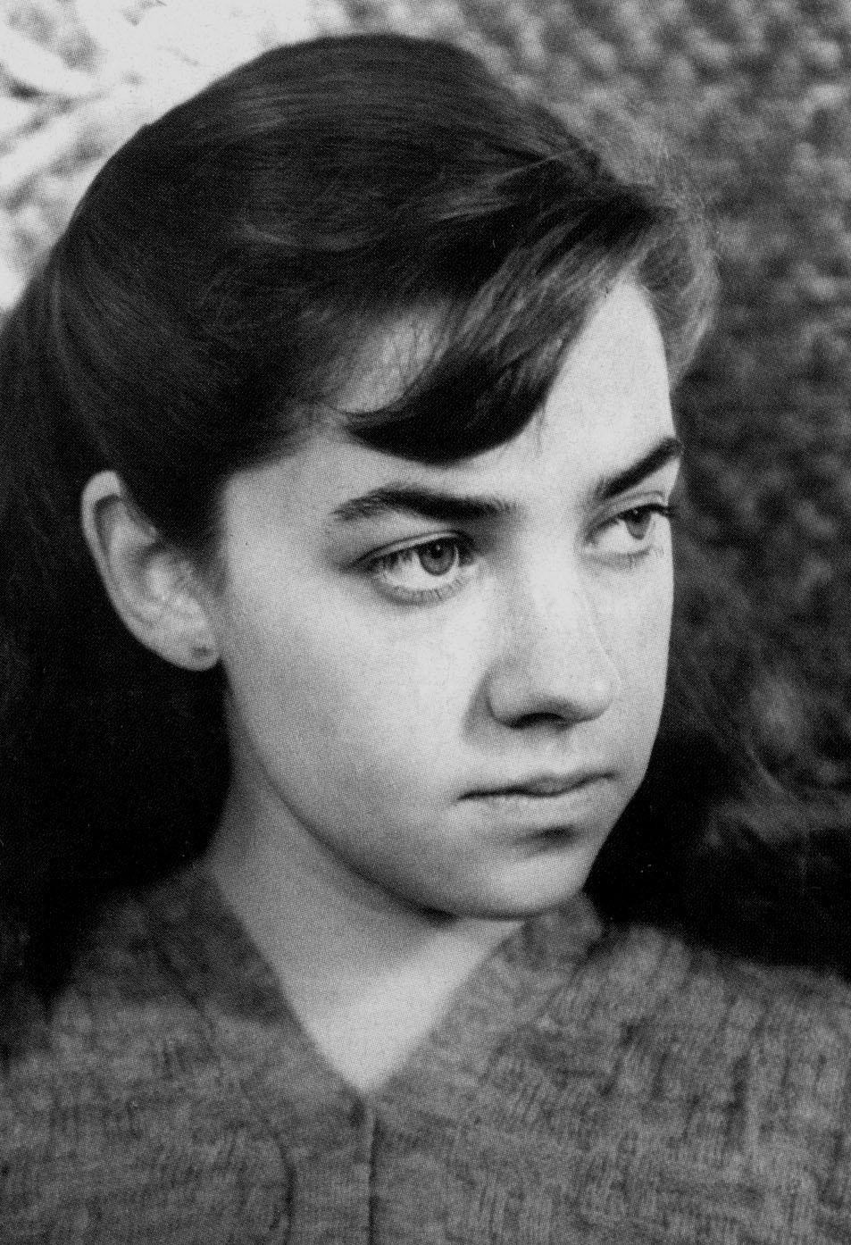 María Elena Walsh en 1945.