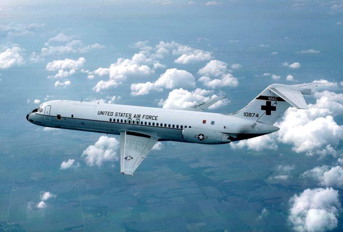 C-9 Nightingale used for Aeromedical Evacuation