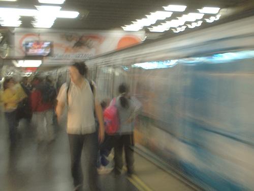 Escuela Militar metro station