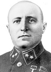 Mikhail Petrovich Petrov (general) Hero of the Soviet Union and Red Army Major General