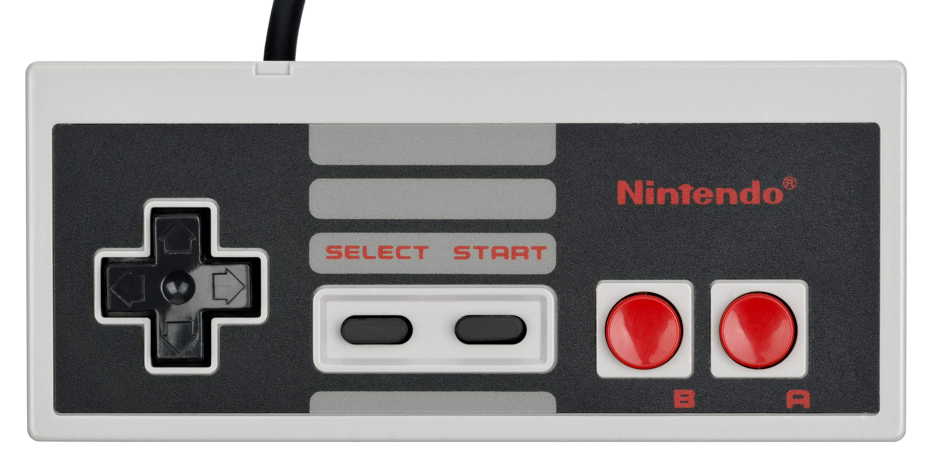 NES-Controller-Flat jp...
