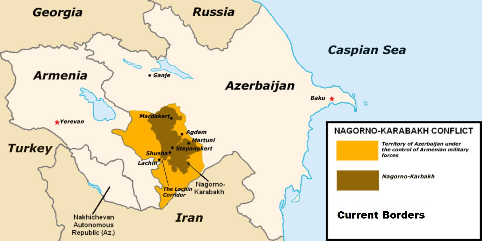 Карабахский конфликт — Википедия