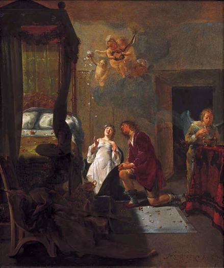 Nicolaus Knupfer - Tobias en Sarah 1654