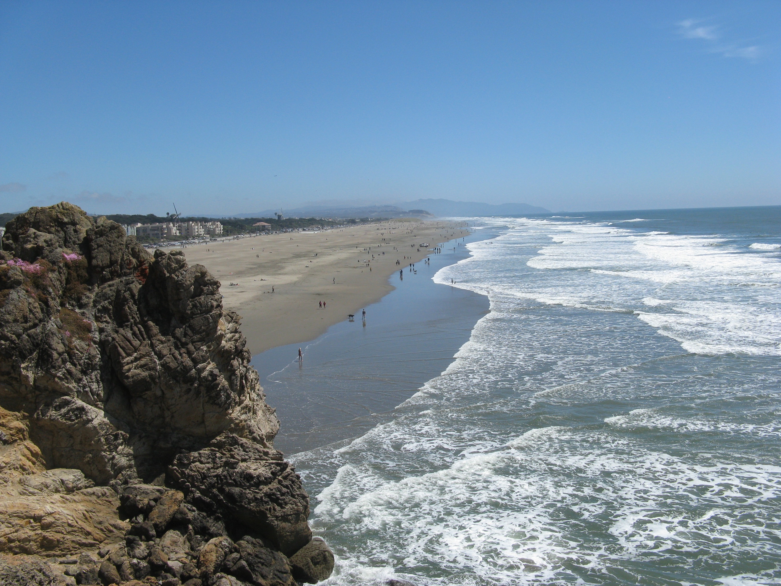 Relax at Ocean Beach - San Francisco's widest and longest ...