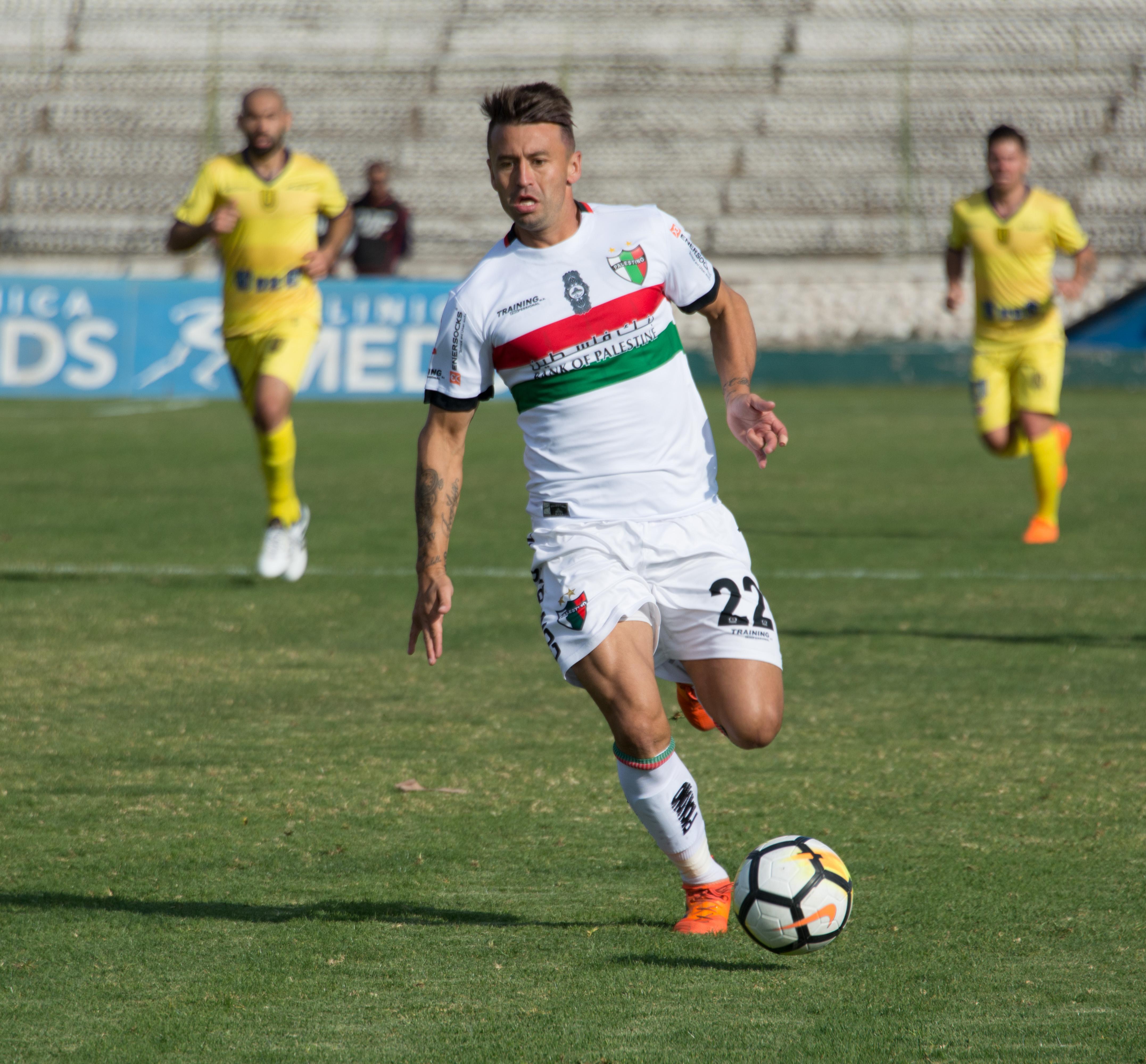 Gutiérrez en su paso por Palestino.