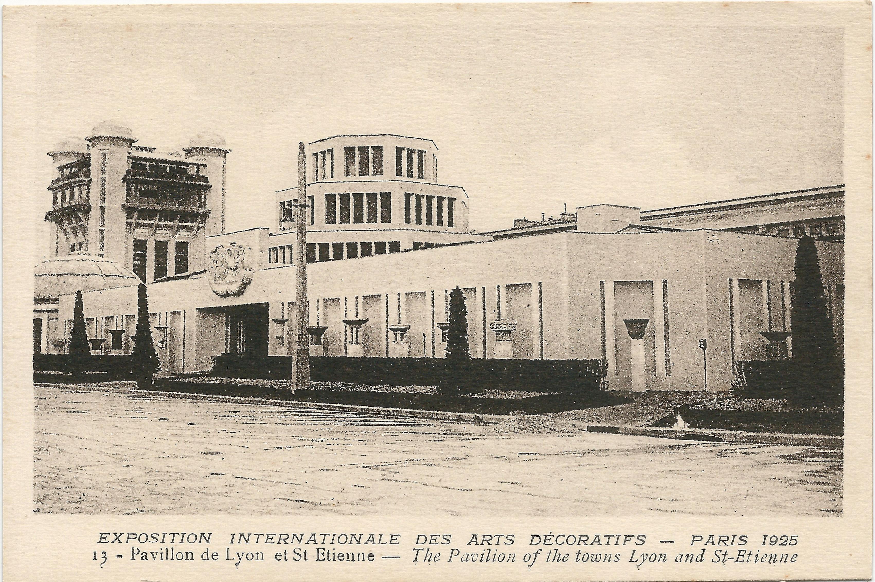 file paris fr 75 expo 1925 arts d coratifs pavillon de lyon saint wikimedia commons. Black Bedroom Furniture Sets. Home Design Ideas