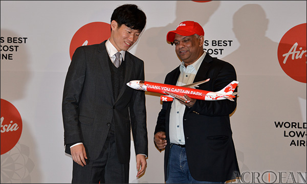 Park Ji-Sung in Air Asia 2014 (1)