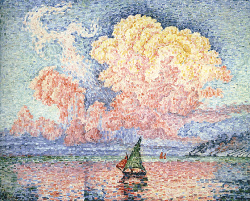 Le nouage rose - Antibes (1916, Museum of Art, Portland)