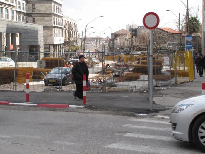 הרחוב הראשי יפו בשיפוצים