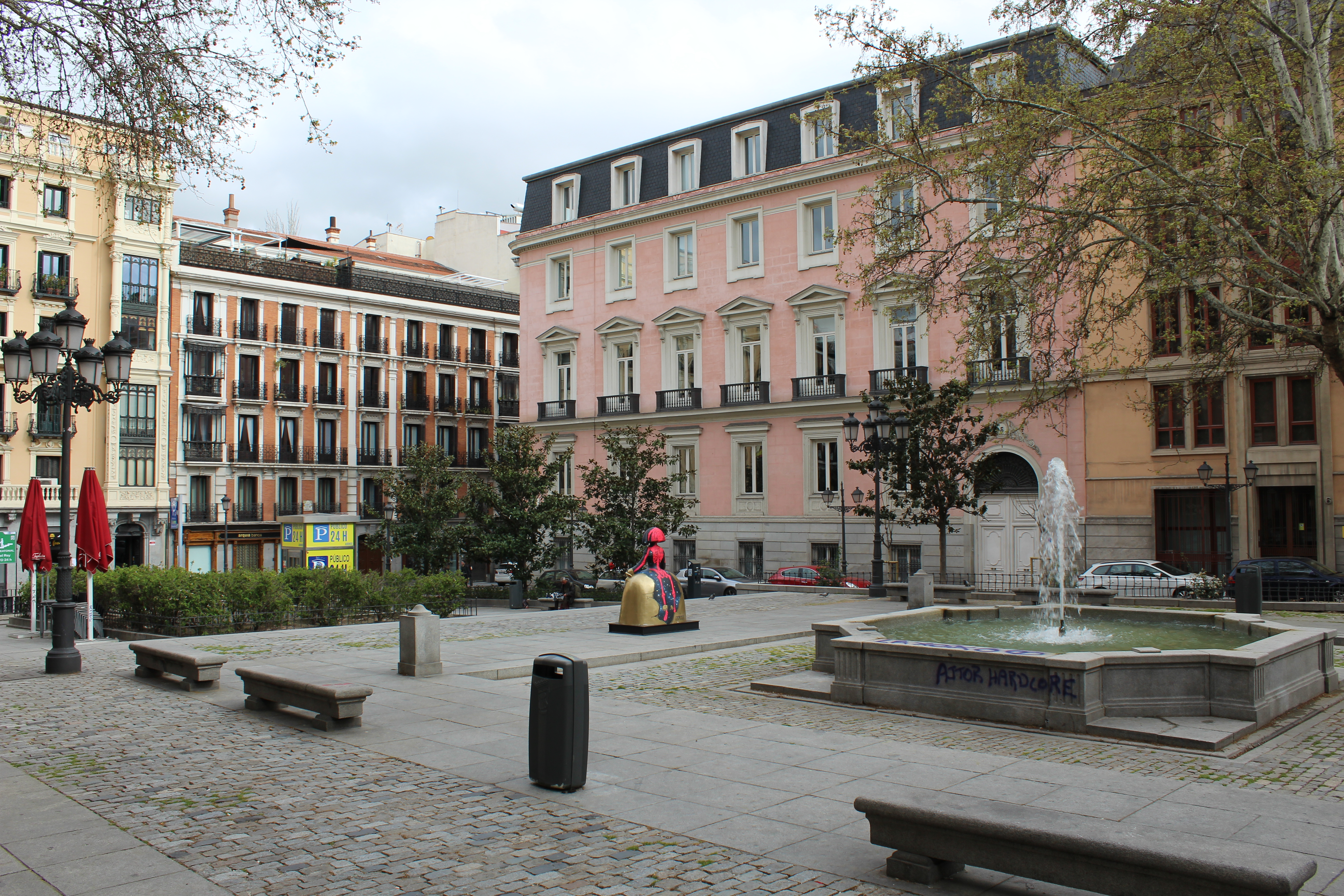 File Plaza Del Rey Madrid Jpg Wikimedia Commons