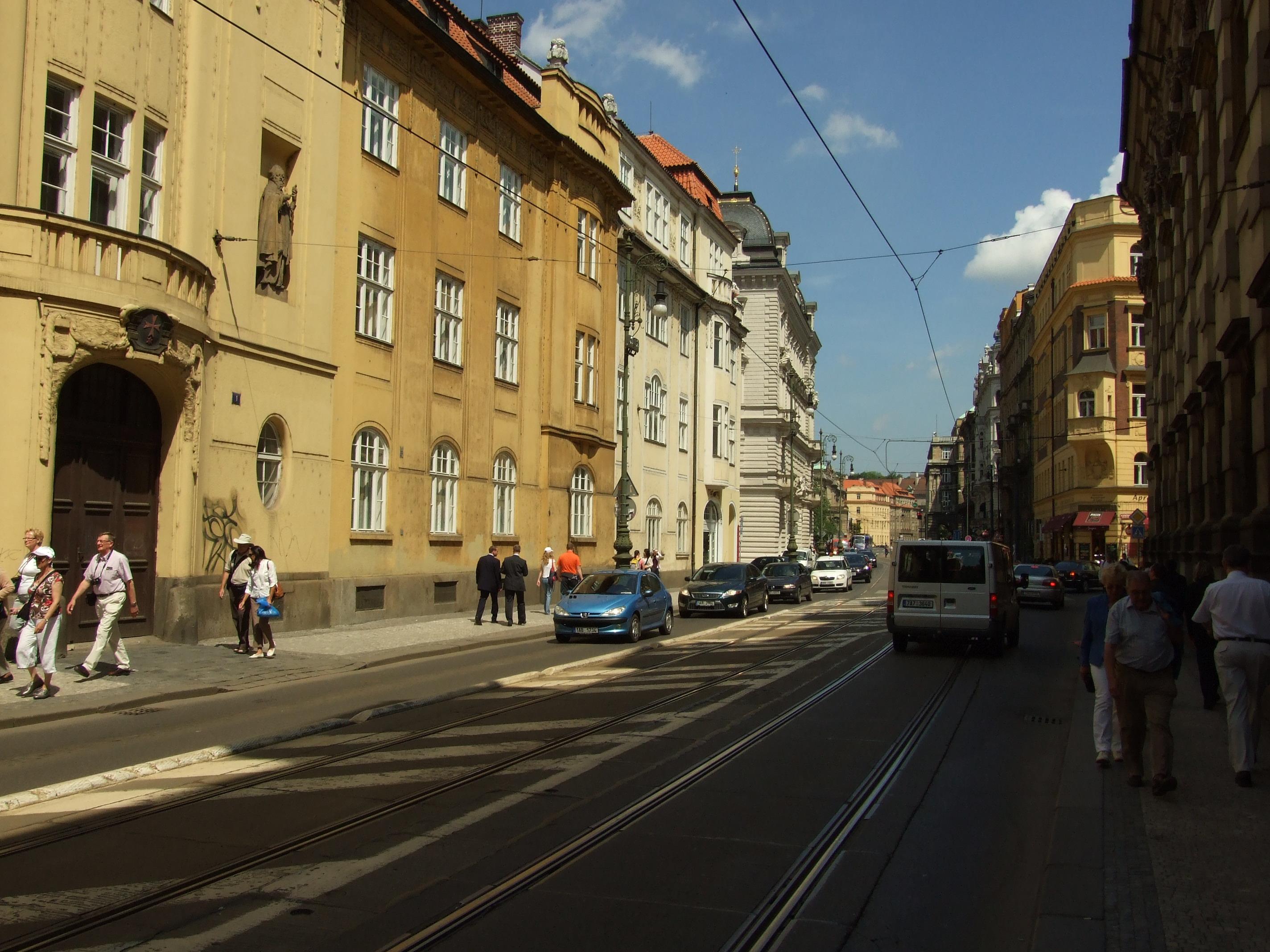 Description praha staré město křižovnická ulice jpg