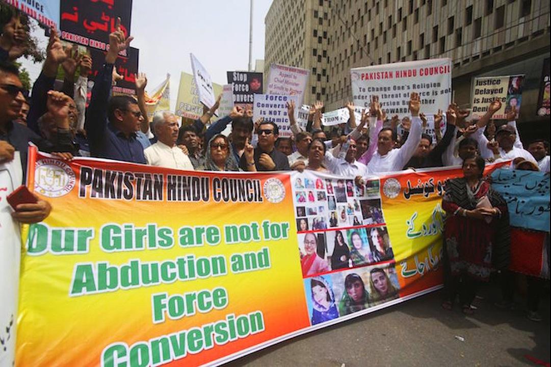 Forced conversion of minority girls in Pakistan - Wikipedia