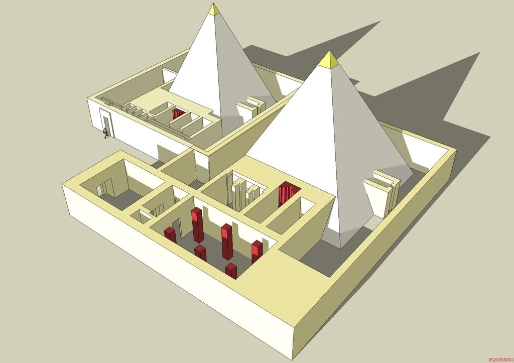 pirámide de Teti Pyramide_Khouit_II_Ipout_I