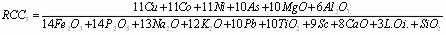 RCC5 for the CLR transformed data Equation 12.jpg
