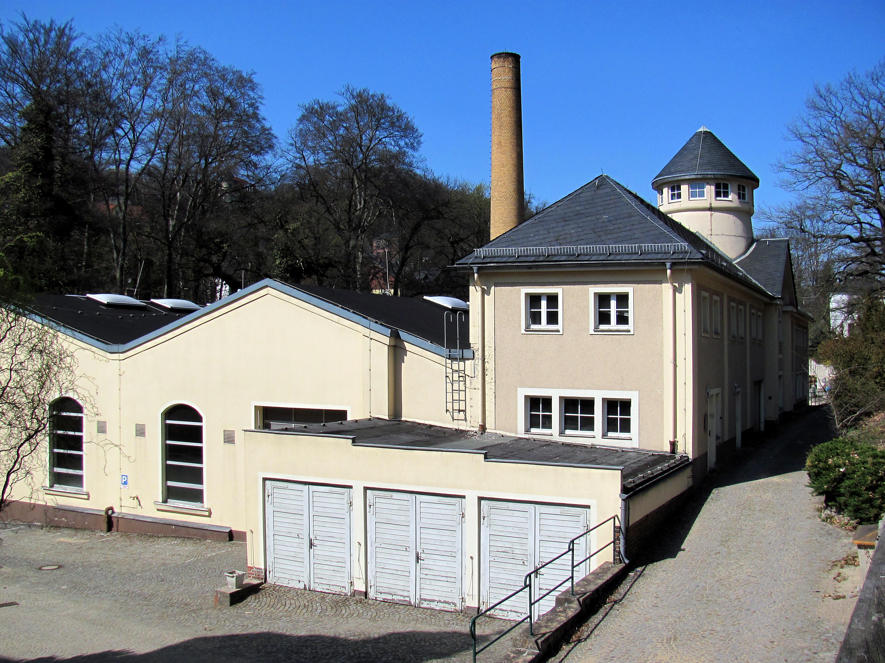 File:Radebeul Elektrizitätswerk Niederlößnitz Haus B