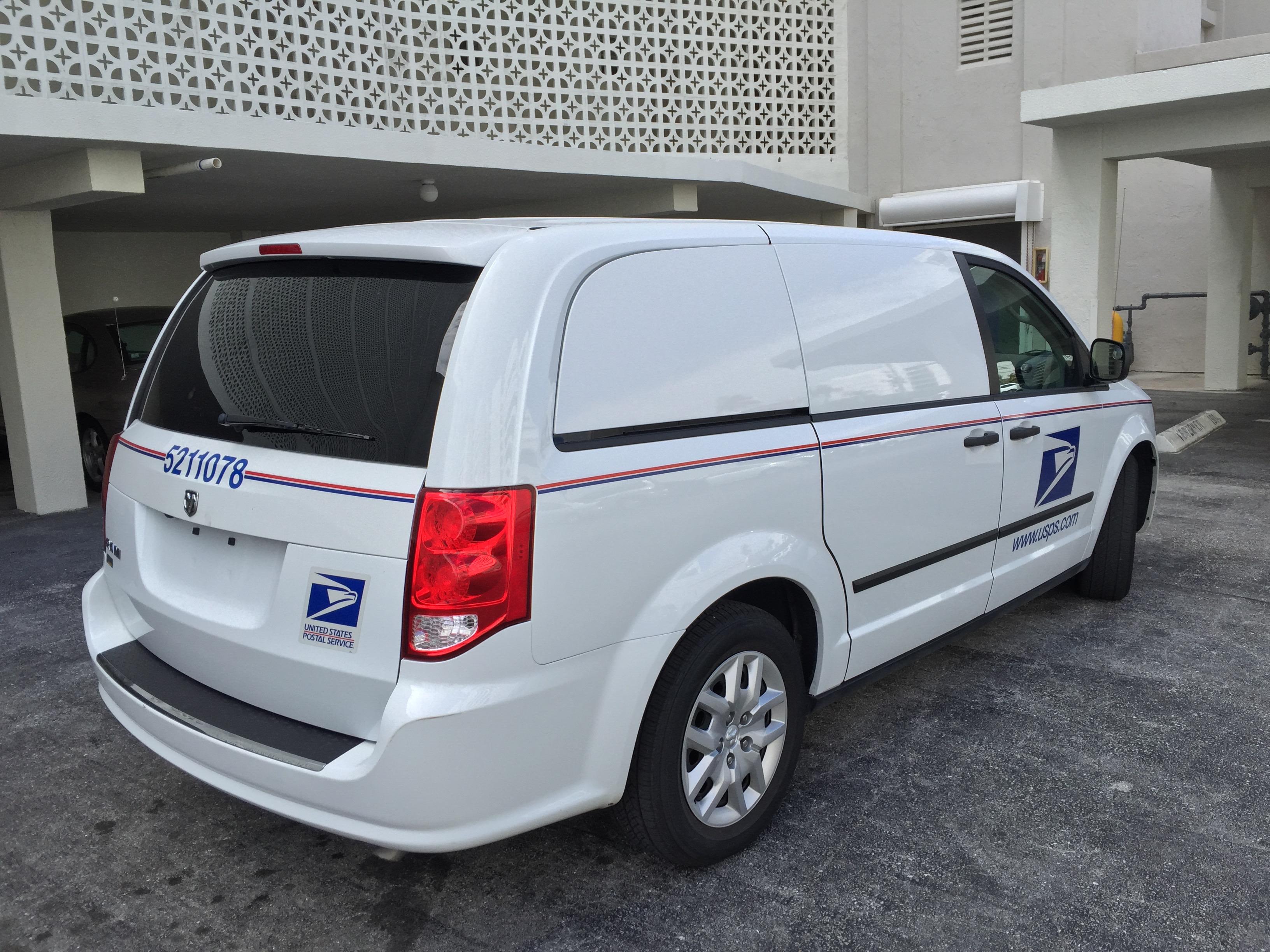File:Ram Cargo Van - United States Postal Service - Palm Beach