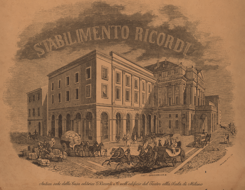 Casa ricordi wikipedia for Casa discografica musica classica