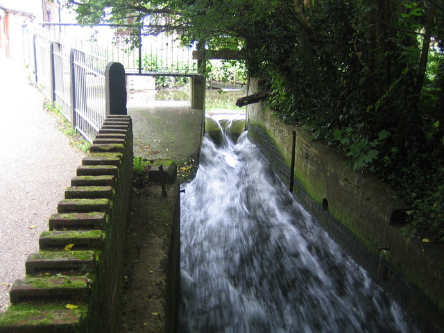 River Lee in Wheathampstead - geograph.org.uk - 466082