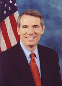 Rob Portman, Director of the Office of Managem...