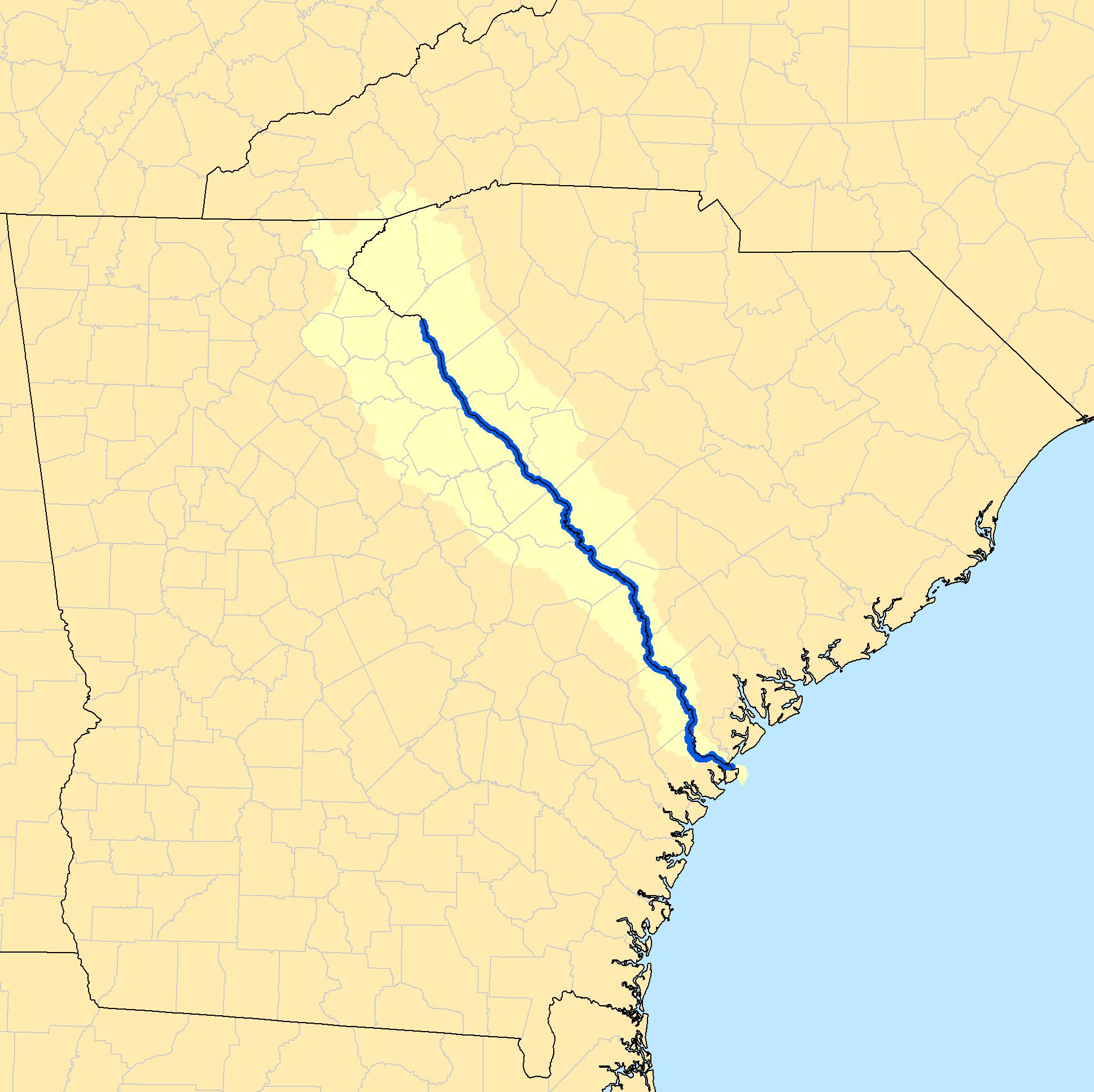 Savannah Georgia On Us Map Globalinterco - Where is georgia located on the us map