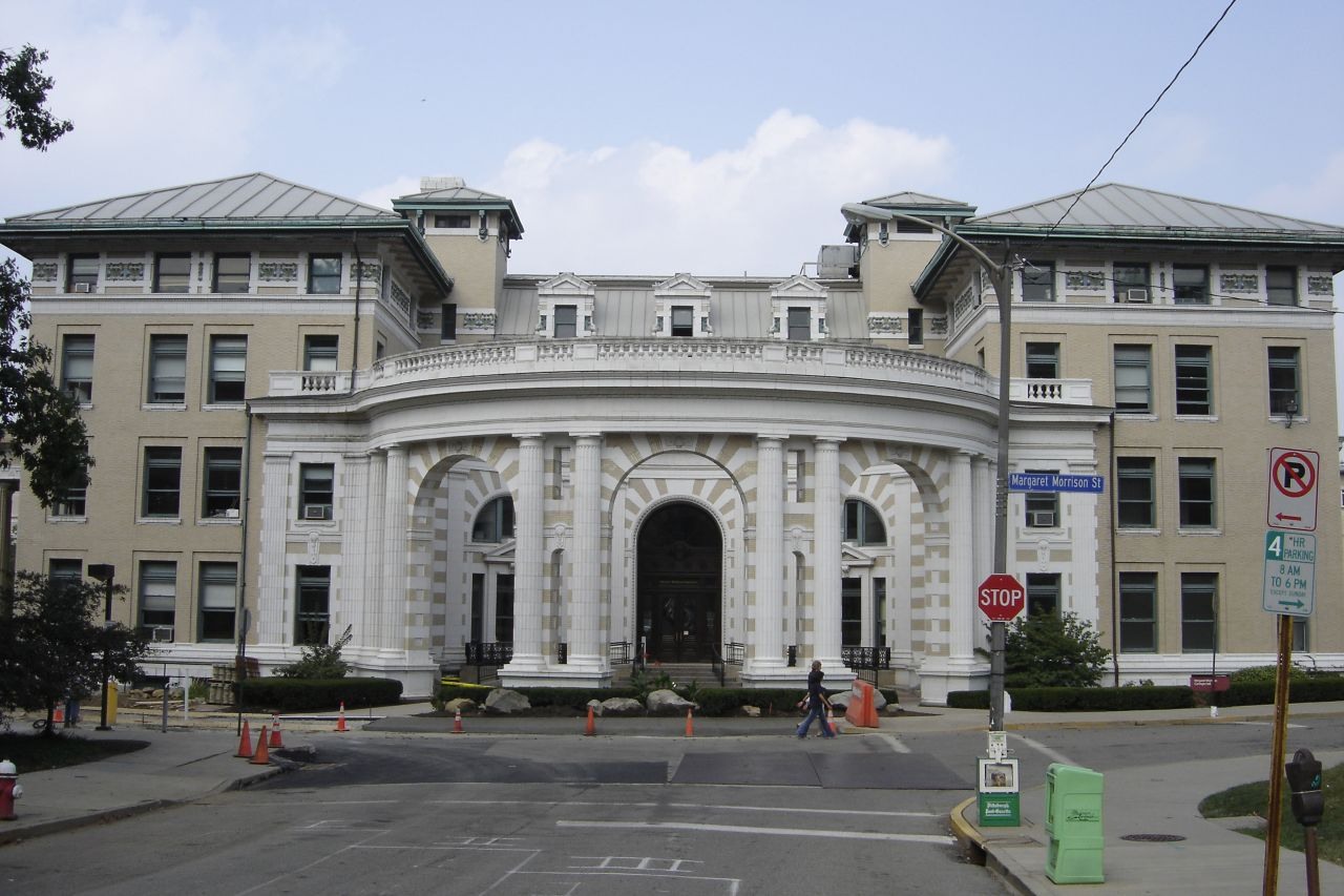 Margaret Morrison Hall, home of the Carnegie Mellon School of Architecture