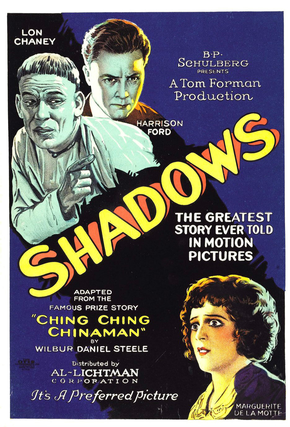 Shadows 1922 Film Wikipedia
