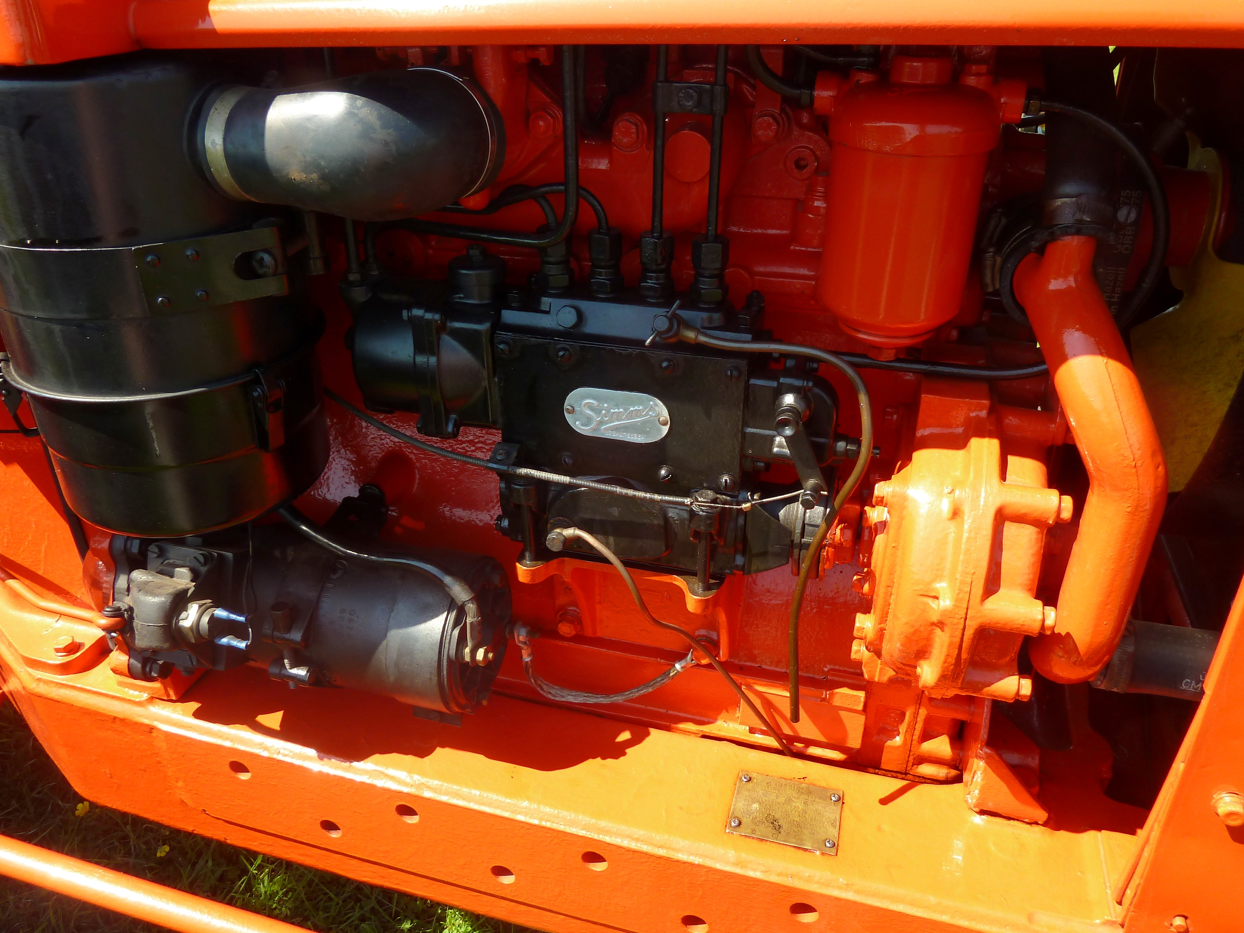 simms diesel pumps