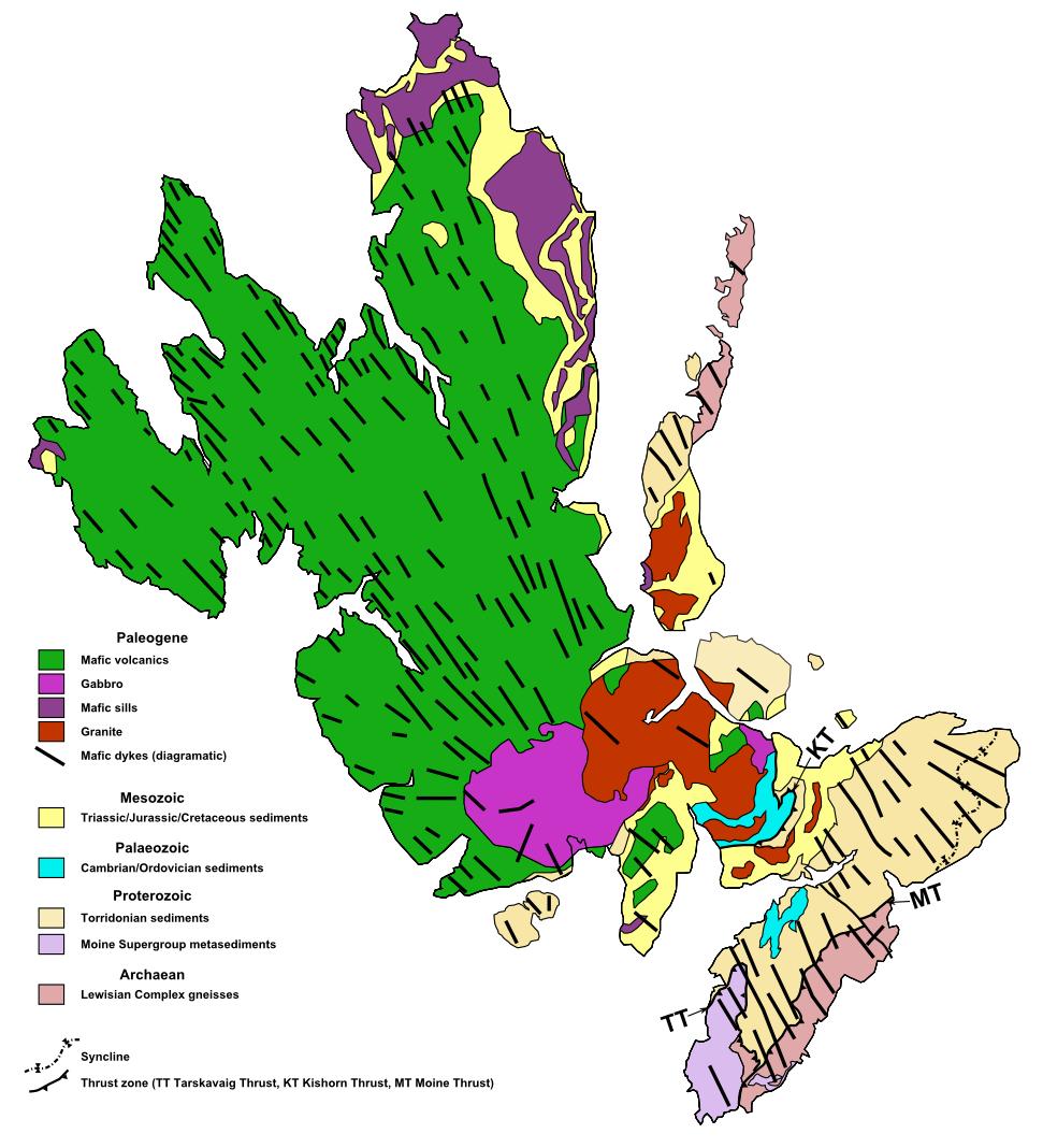 Geology of Skye  Wikipedia