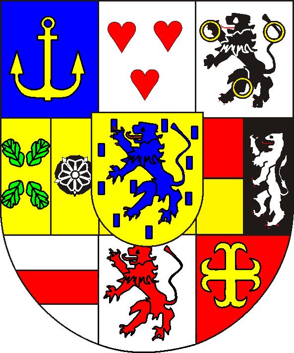 Wappen des Fürstenhauses Solms-Hohensolms-Lich