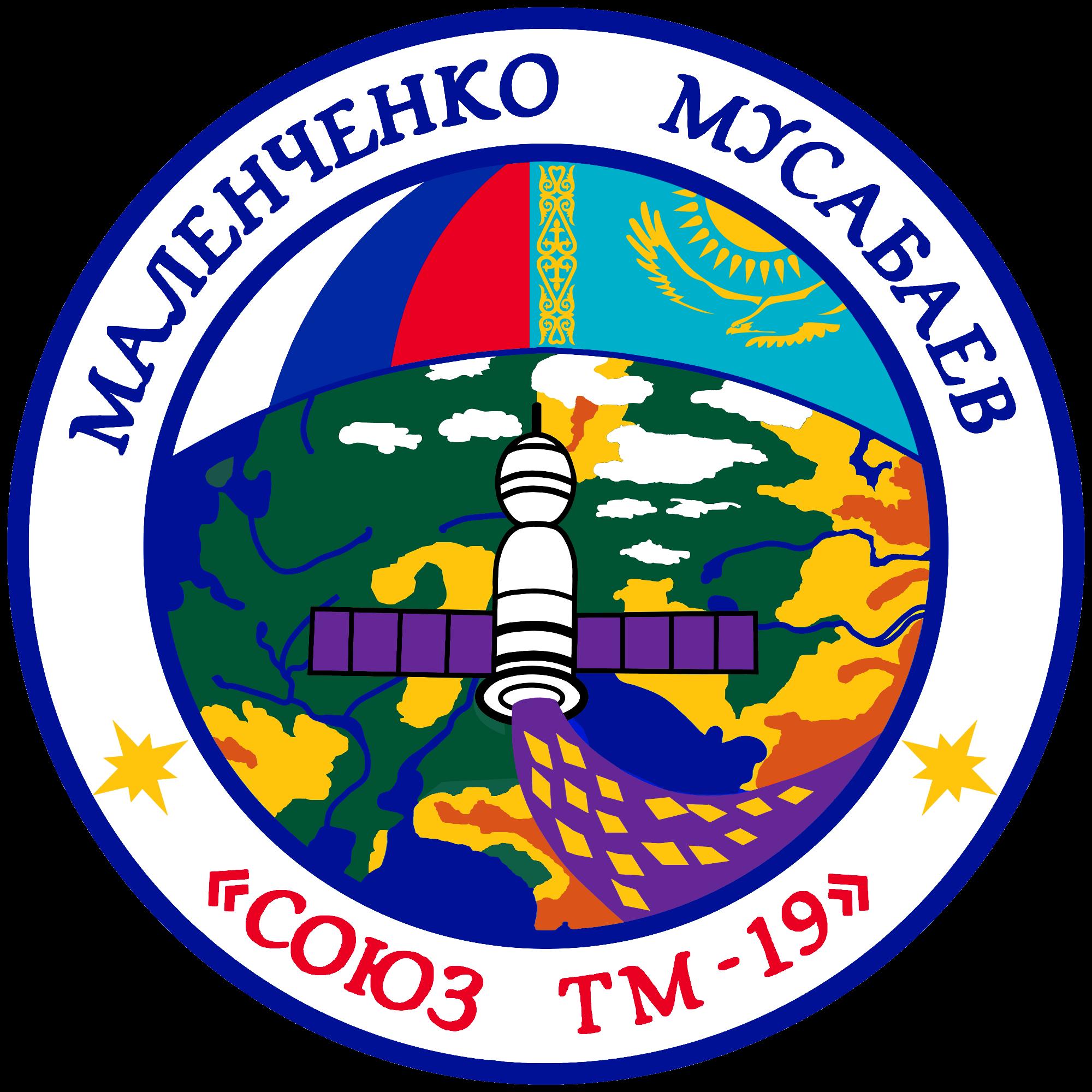Soyuz TM-19 patch.png