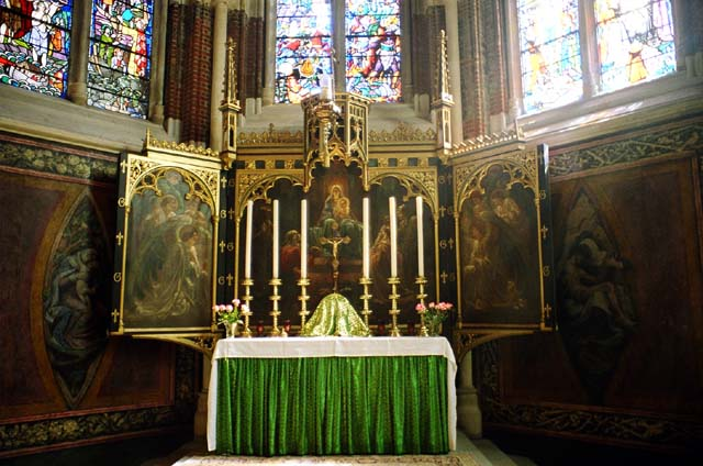 File St John Divine High Altar Jpg Wikimedia Commons