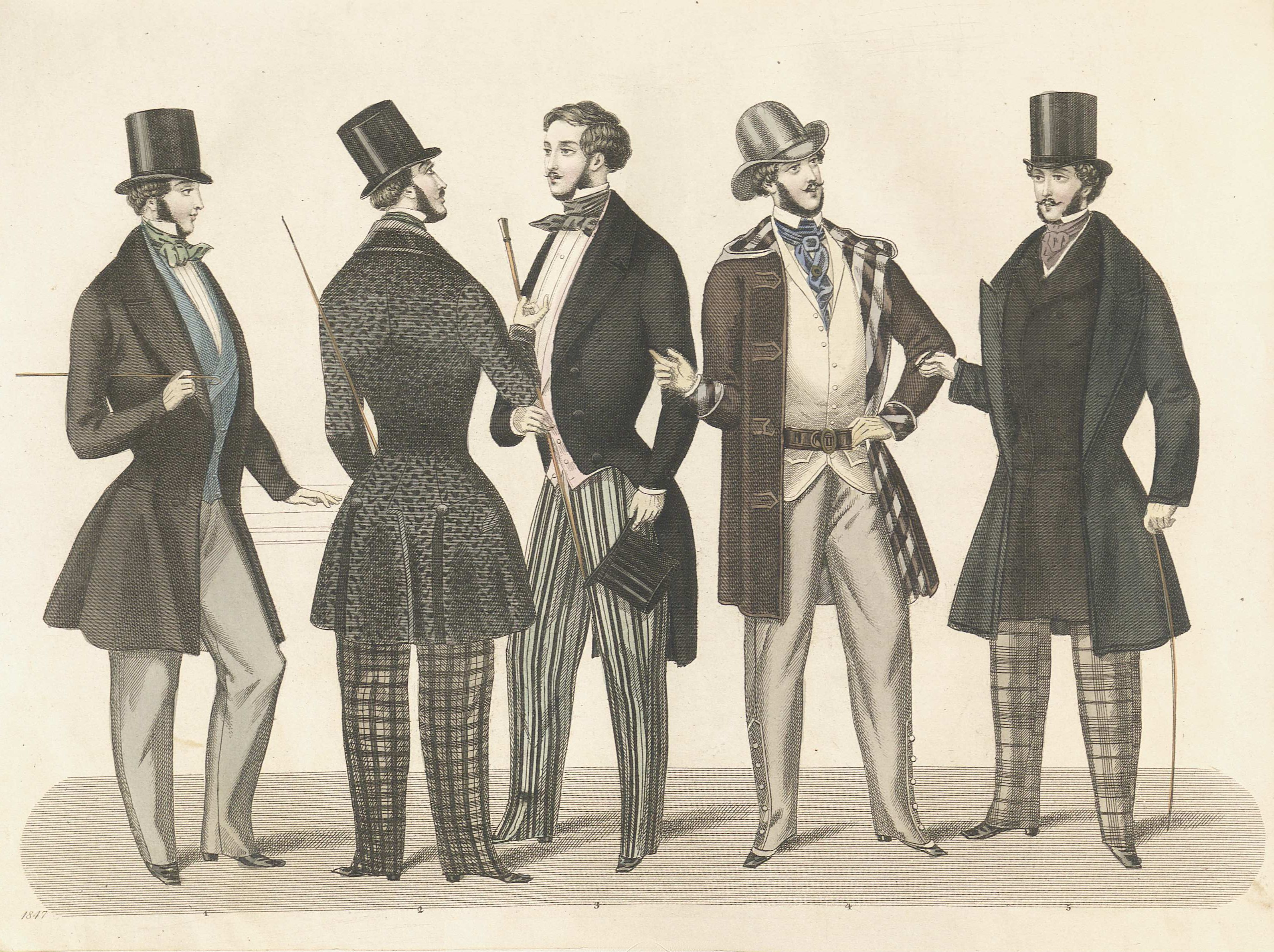 Fanstay Victorian England Mens Fashion