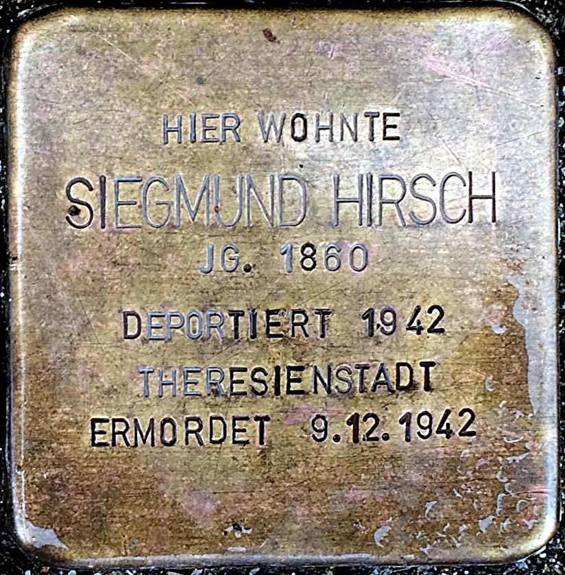 Stolperstein Hirsch, Siegmund.jpg
